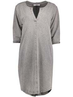 Luba Jurk 8135 DRESS V-NECK Grey