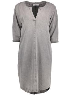 Luba Jurk 8135 DRESS V-NECK Grey
