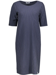 pcdamara  2/4 dress box 17079801 pieces jurk navy blazer/pinstripe