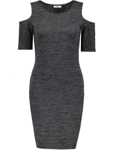 onlROMA LUREX 2/4 SHORT DRESS JRS 15126114 Black/With Silver