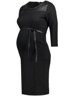 mlreco 3/4 jersey dress 20006570 mama-licious positie jurk black