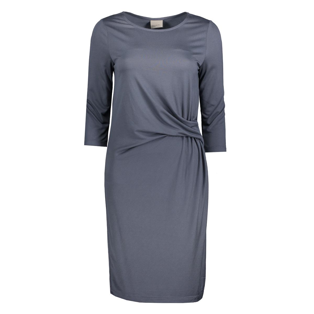 vmmonica knot 3/4 short dress pre 10175197 vero moda jurk ombre blue