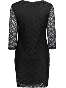vmally lace 3/4 dress nfs 10175886 vero moda jurk black