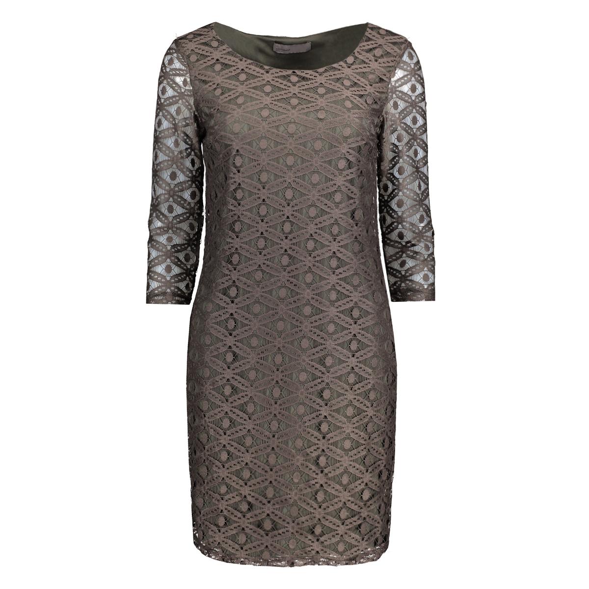 vmally lace 3/4 dress nfs 10175886 vero moda jurk beluga
