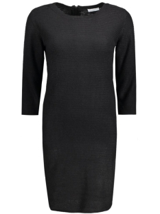 JDYMATHISON 3/4 ZIP DRESS KNT 15130606 Black