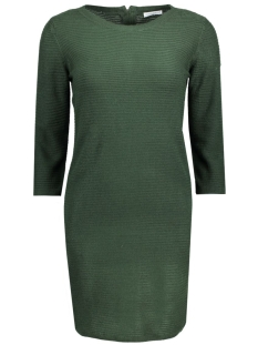 Jacqueline de Yong Jurk JDYMATHISON 3/4 ZIP DRESS KNT 15130606 Scarab