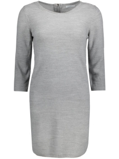 JDYMATHISON 3/4 ZIP DRESS KNT 15130606 Light grey melange