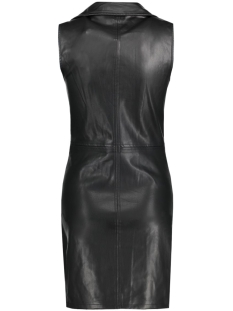 onlnewham faux leather dress otw 15123264 only jurk black