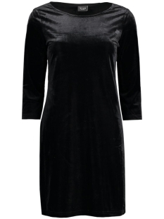 Vila Jurk VISIENNA 3/4 SLEEVE DRESS 14037826 Black
