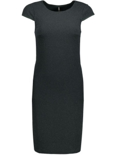 onlcharlot sl shiny dress ess rp 15129051 only jurk scarab/tonal lure