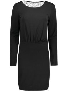 visilia l/s dress 14037687 vila jurk black