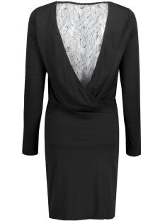visilia l/s dress 14037687 vila jurk black