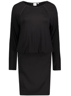 OBJFANCY L/S DRESS 23023104 Black