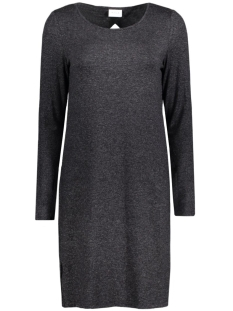 Vila Jurk VIREGINE L/S DRESS 14037684 Dark Grey Melange