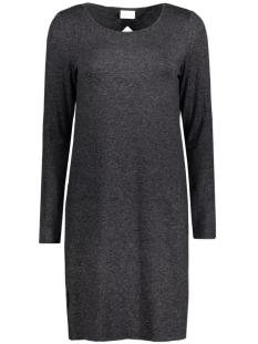 viregine l/s dress 14037684 vila jurk dark grey melange