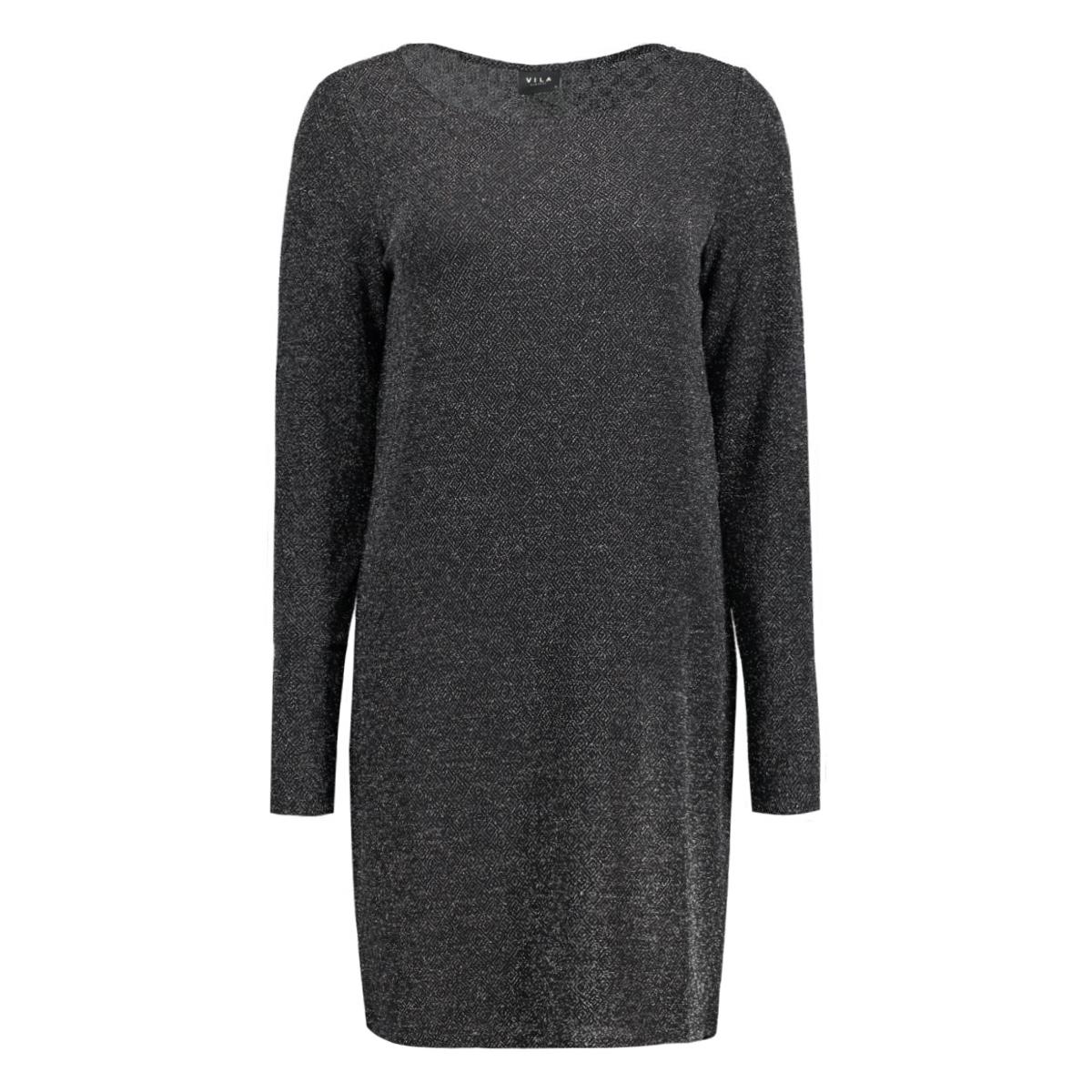 vitinny luosquare dress 14038713 vila jurk silver colour