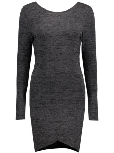 onlROMA ISO L/S  SHORT DRESS JRS 15115904 Black/Silver