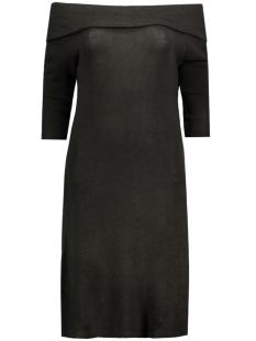 Jacqueline de Yong Jurk JDYFIFTH L/S OFF SHOULDER DRESS JRS 15123195 Black