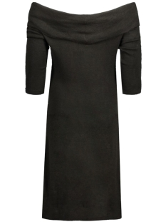 jdyfifth l/s off shoulder dress jrs 15123195 jacqueline de yong jurk black