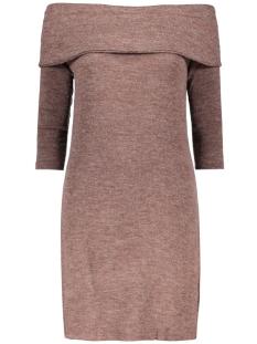 Jacqueline de Yong Jurk JDYFIFTH L/S OFF SHOULDER DRESS JRS 15123195 Fudge