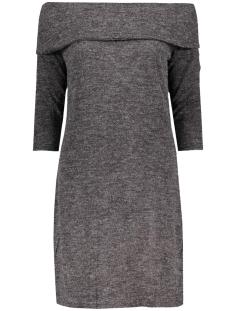 Jacqueline de Yong Jurk JDYFIFTH L/S OFF SHOULDER DRESS JRS 15123195 Dark grey melange