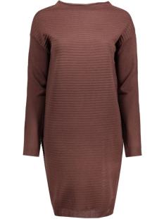 Jacqueline de Yong Jurk JDYSTARLIGHT L/S DRESS KNT 15119797 fudge