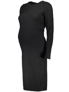 Mama-Licious Positie jurk MLSENIA L/S JERSEY DRESS 20006745 Black