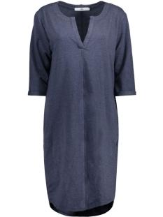 Luba Jurk 8135 DRESS V-NECK NAVY