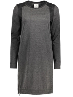 VMCOOL COATING LS SHORT DRESS DNM J 10164713 Dark Grey Melange