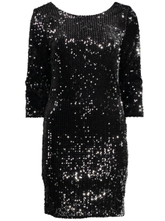 onlNEW ATITUDE L/S DEEP BACK DRESS 15125912 Black
