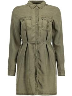 NMEGIL LS SHIRT DRESS 10167900 Ivy Green