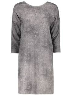 Vero Moda Jurk VMSHINY PRINT SHORT 3/4 DRESS NFS 10176084 Ash