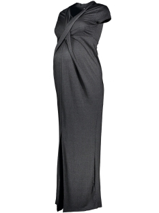 Mama-Licious Positie jurk MLGLITTO S/S JERSEY MAXI DRESS NF 20006610 Black