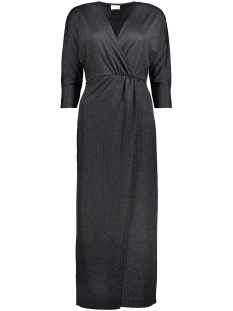 Vila Jurk VISANS LONG DRESS 14039395 Black