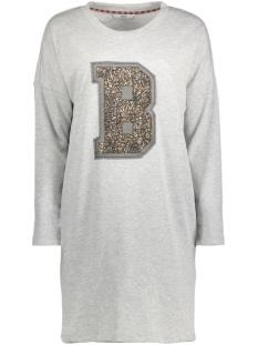 onlBEVI SWEAT DRESS L/S JRS 15133248 Medium Grey Melange