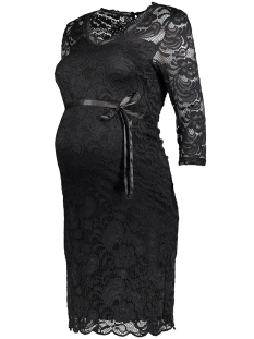 Mama-Licious Positie jurk MLMIVANA 3/4 JERSEY DRESS 20007260 Black