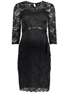 mlmivana 3/4 jersey dress 20007260 mama-licious positie jurk black