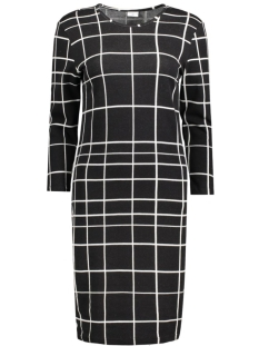 JDYBUKET L/S DRESS JRS 15129277 Black/Oatmeal