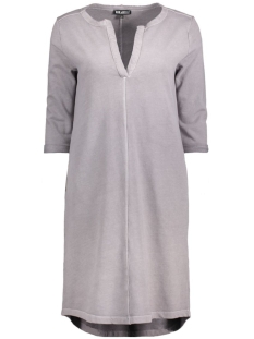 V-NECK DRESS TAUPE Taupe