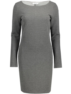 Vila Jurk VIEVELYN L/S DRESS 14037824 Medium Grey Melange