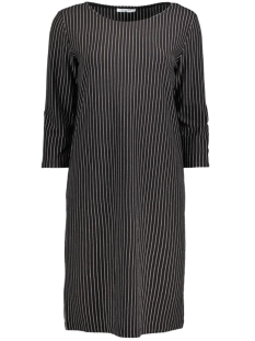 Pieces Jurk PCDAMARA 3/4 DRESS BOX  17081169 Pinstripe /Black