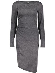 Vila Jurk VIGENERAL L/S DRESS 14037828 Dark Grey Melange