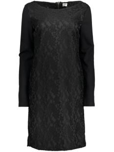OBJCRANE L/S SHORT DRESS 23023419 Black
