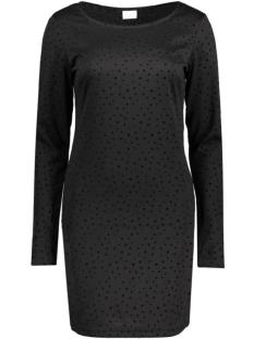 Vila Jurk VITINNY L/S ALL OVER DOT DRESS 14040952 Black