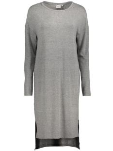 OBJBIRD 3/4 DRESS 88 23023513 Medium Grey melange