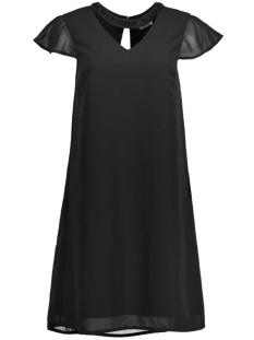 Vero Moda Jurk VMLITA HI NECK CAP SHORT DRESS D2-1 10171564 Black/T/T Beadwo