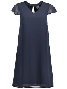 Vero Moda Jurk VMLITA HI NECK CAP SHORT DRESS D2-1 10171564 Total Eclipse/T/T Beadwo
