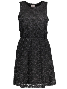 VMAMY S/L LACE SHORT DRESS 10170758 Black