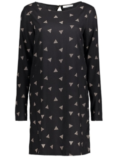 Vila Jurk VIPRINT L/S DRESS 14041183 Black