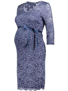 Mama-Licious Positie jurk MLMIVANA 3/4 JERSEY DRESS 20007260 Vintage Indigo
